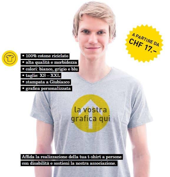 T-shirt inclusione